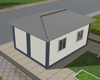 Good quality cheap flat-pack double storey container house with Good insulated well designed