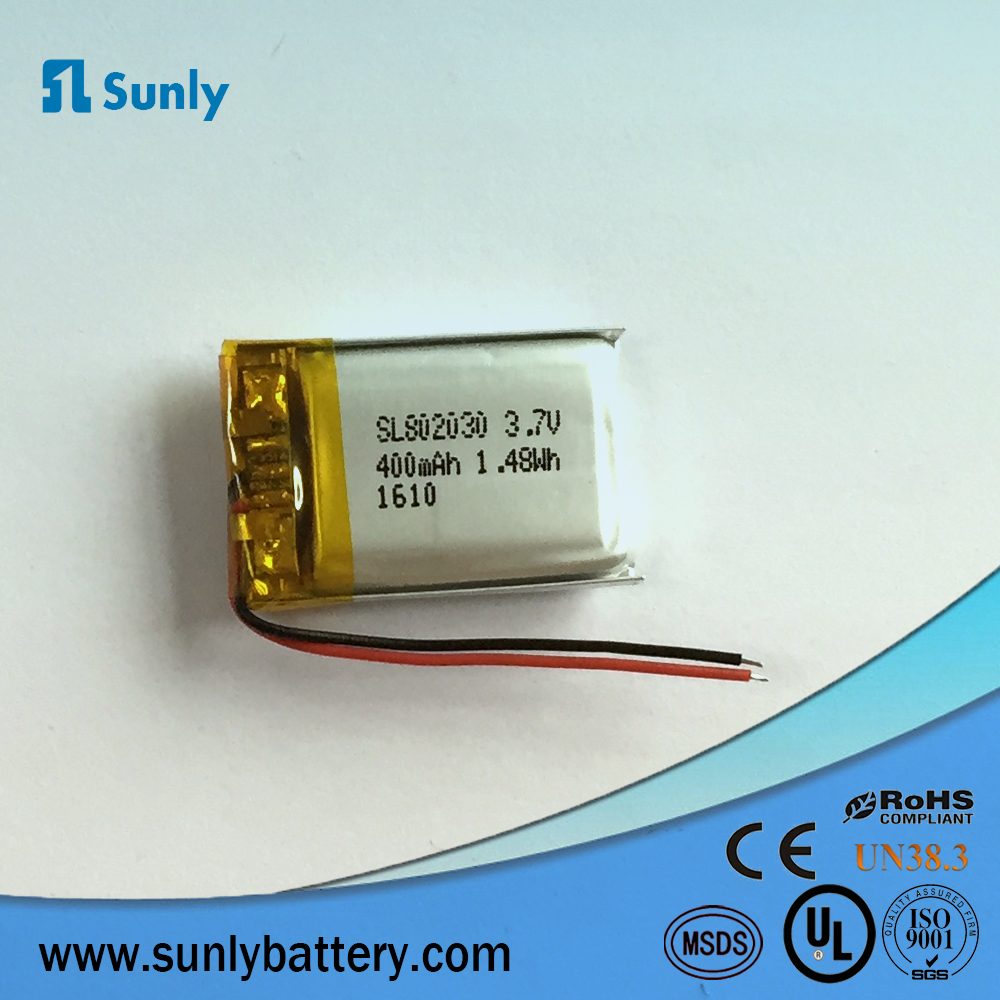 060917 3.7v 50mah Micro rechargeable lipo ion battery