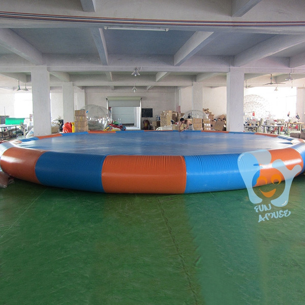 Above ground pvc inflatable pool covers for inground for Inflatable above ground pools