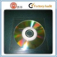 custom self adhesive CD/DVD sleeve