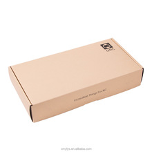 Custom made kraft paper cardboard corrugated paper mail packaging boxes manufacturer for shipping