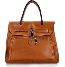 2012 Fashion women genuine leather handbag wholesale