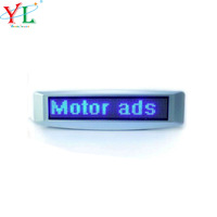 High Quality Lower Price waterproof advertising motorbike LED display LED sign led display board