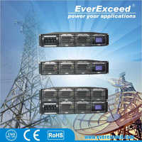 2-year Warranty CE RoHS approved EVEREXCEED ER Series telecom rectifier