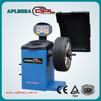 High Performance electronic wheel Balancer tyre service machine