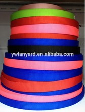 High quality cheap durable 3/4'' inch nylon webbing in rolls