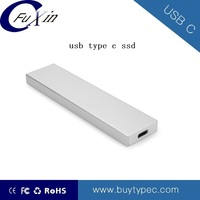 Portable USB C SSD hard drive for laptop