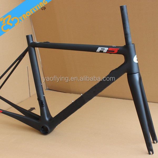 2015 Popular new arrival road bike carbon frame,super light chinese carbon road bike frame fit simple racing ,free shipping.
