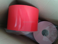 double side foam tape in roll with red release can cut into any piece