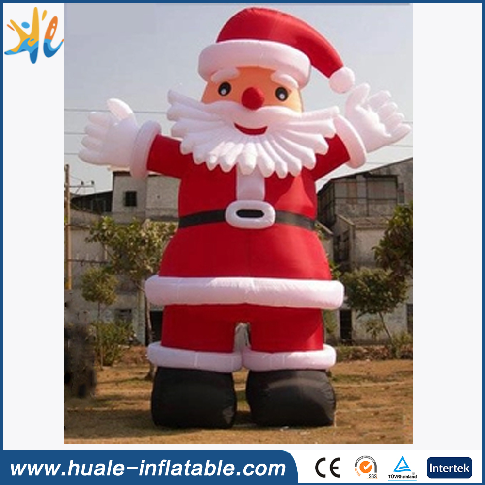 Giant inflatable Santa Clause cartoon for christmas decoration