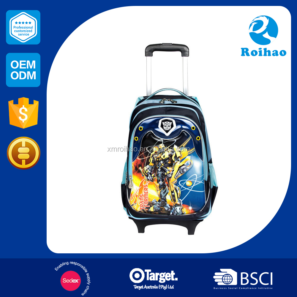 Bsci Formal Wholesale Price Kids Trolley Travel Bag