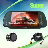 High quality - 7 inch TFT LCD Car Reverse Rearview Color Mirror Monitor+Car Backup Camera System