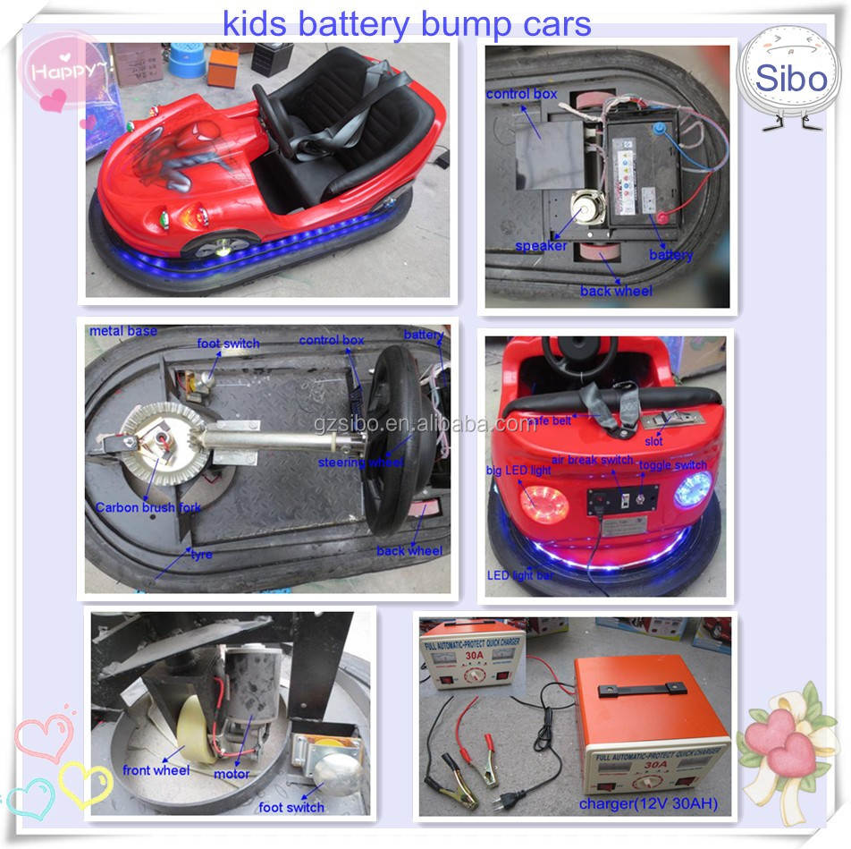 GMBC chinese sale kids bumper cars italy