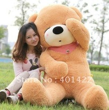 sleeping teddy bear toys plush toy,120cm white/dark brwon/brown JPtoy003