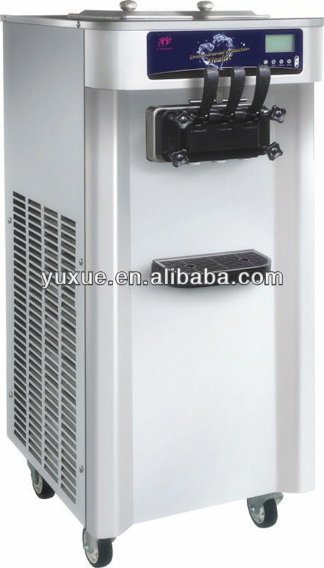 Alibaba sales hot items in Unisnow floor stand soft server three nozzle ice cream machine
