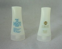 luxury toiletry plastic bottle