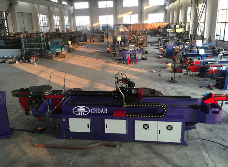 DW-75 CNC automatic pipe bending machine hydraulic pipe bender for sale