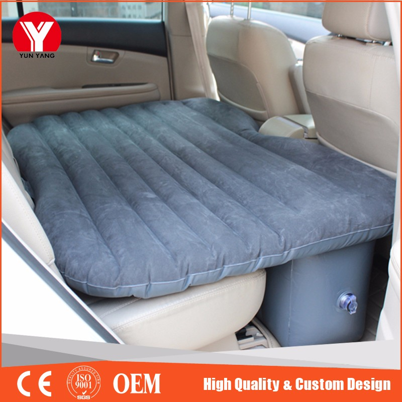 PVC Inflatable travel car air bed for adults car mattress