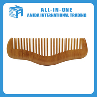 wholesale natural keep healthy wooden comb hair comb