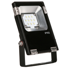 Factory direct sales toughened Glass cover 10w led flood light outdoor