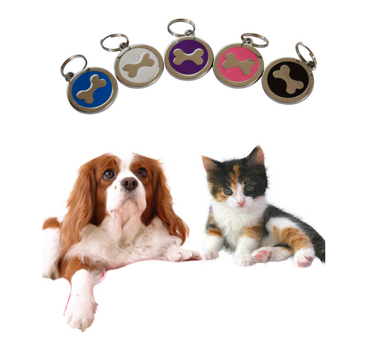 Footprint Pet Tag And Lovely Bone Dog Names For Male Dog