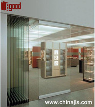 Sliding glass office movable glazed wall partition india