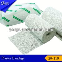 20-110 100% Cotton ISO CE FDA Certificate plaster of paris price