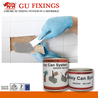 epoxy for marble wall and flooring granite tile fixing system