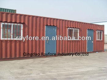 40 ft shipping container house iso standrad easy transportion