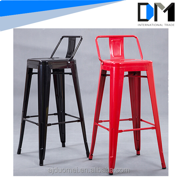modern metal chair frames , french design black high chair metal