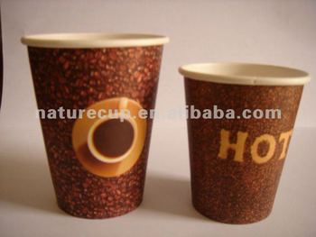 disposable food grade paper hot cups 8oz-a