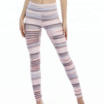 wholesale high quality sublimation bodybuilding ladies yoga fitness pants