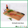 FB2-1241 Bamboo Cutting Board With Knife set vegetable