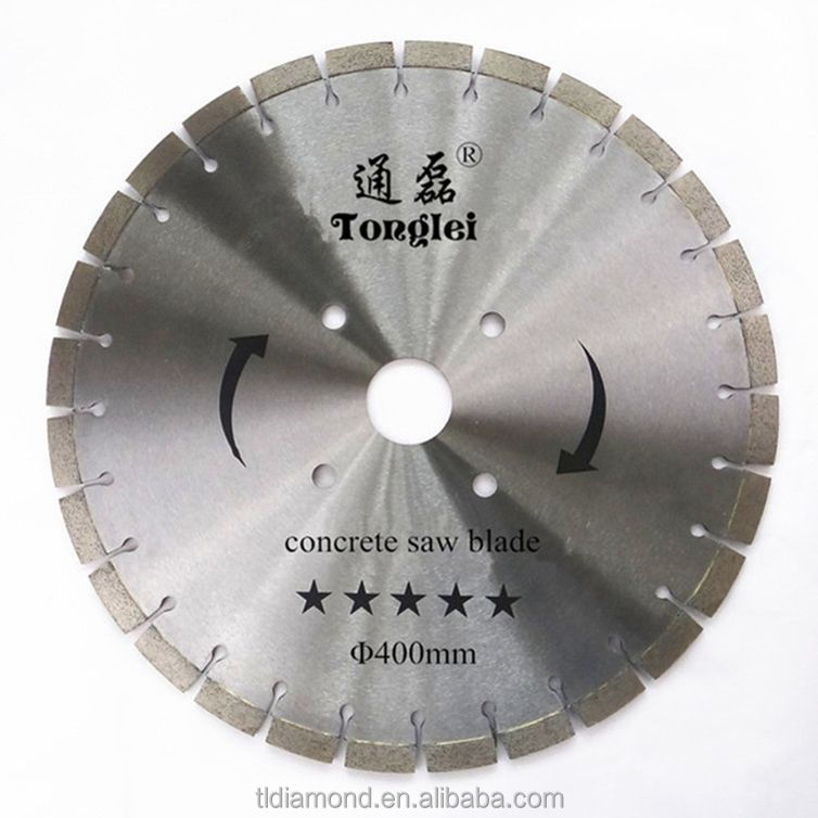 "Durable 400mm/16"" saw blade used on cutting road/concrete"