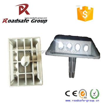 Casting Aluminum marker reflective cat eye pavement aluminum studs