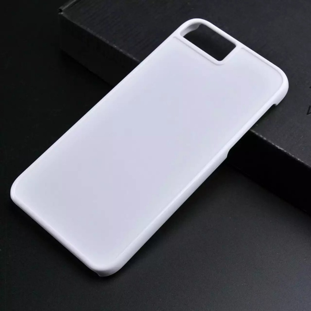 basic hard plastic groove case for iphone 7