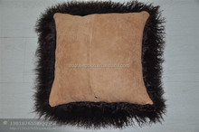 Fashion Sheepskin Pillow Tibet Wool basketball shaped pillows