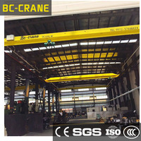LD Model CE Certificated Remote Control Single Girder10 ton Overhead Crane ,workshop overhead crane price 5Ton for sale