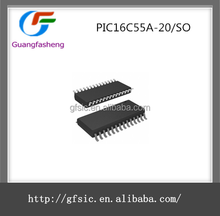(Integrated circuit) Original Microcontrollers Chips IC PIC16C55A-20/SO