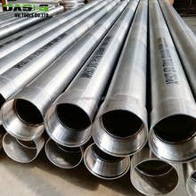 "8 5/8"" Austenitic Stainless Steel 304 Water Well Casing Pipe Factory"