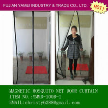 Hot sale mosquito net door curtain,easy folding and installation