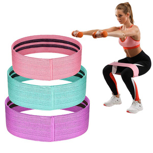 Unisex Durable Hip Resistance Bands Outdoor Yoga Stretching Training Pilates Non-slip Workout Legs Butt Squat Elastic Bands
