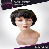 Clean And No Smell Full And Thick Machine Made Raw Free Catalog Book For Wigs