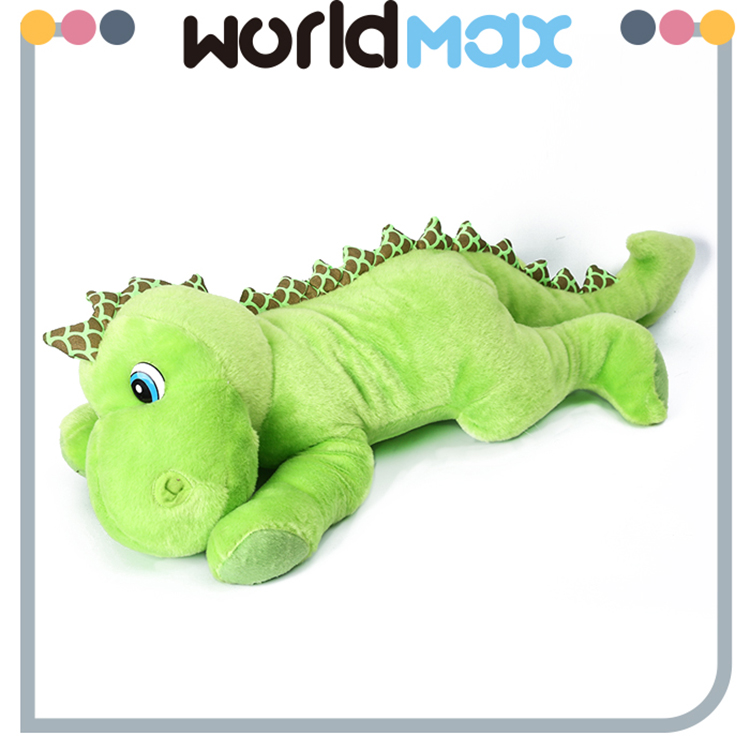 Lightweight OEM Service Lying Dinosaur Soft Cartoon Toy Doll
