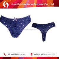 New arrival most popular thong children underwear sexy t-back panties