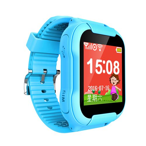 V15 Children GPS Watch Phone for Iphone Android with SIM Card LBS Positioning Call Voice Message WeChat SOS