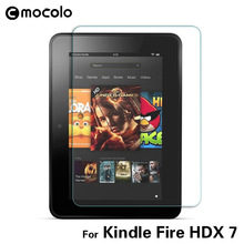 9H Tempered Glass For kindle fire hdx 7 high clear screen protector amazon kindle fire