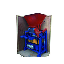 QT4-35 Manual Soil/clay Interlocking Block Making Machine&small Manual Clay Hollow Brick Making Machine