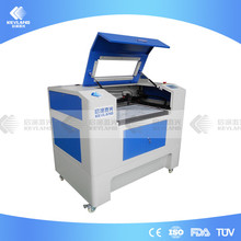 China KEYLAND Coconut Shell Co2 Laser Cutting Engraving Machine Price Good with Lifting Platform