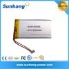 405085-3.7v rechargeable 2000mAh lithium polymer battery for LED light/GPS/ electric scooters/slim power bank